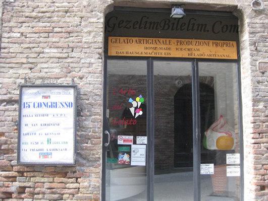 san gimignano,gelato,ice cream,toscana,italya,italy